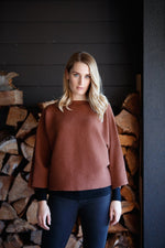 Load image into Gallery viewer, BATWING OVERSIZE SWEATER - Woolshed Gallery