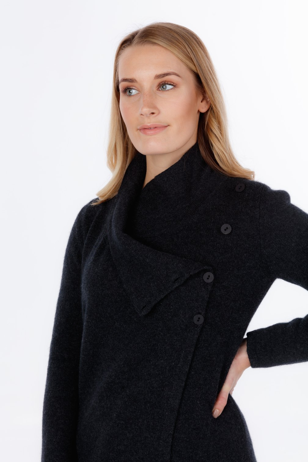 ASYMMETRIC JACKET - Woolshed Gallery