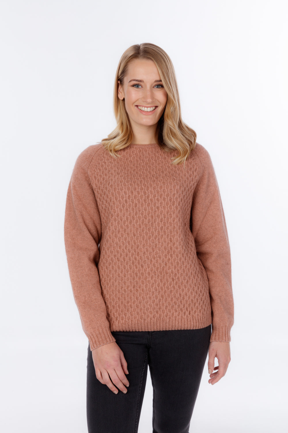 ARRAN KNIT SWEATER - Woolshed Gallery