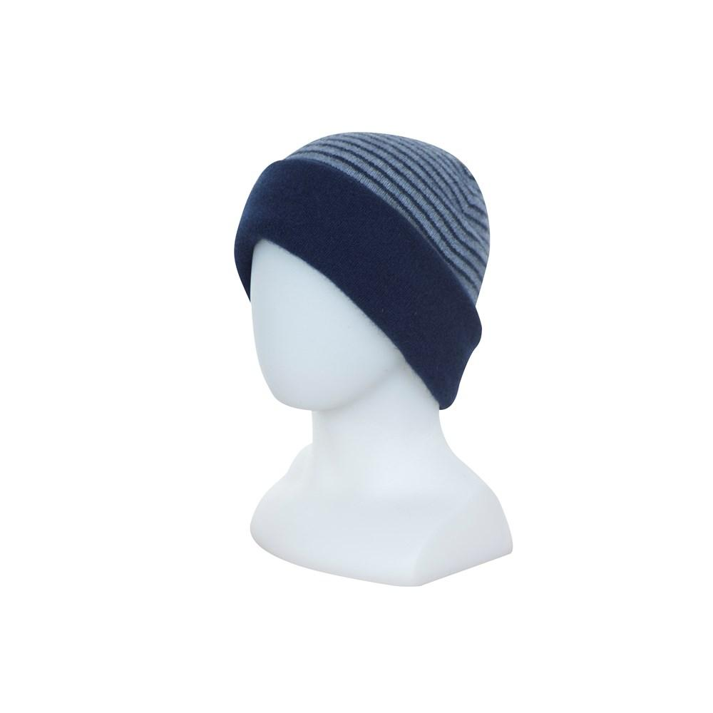 DOUBLE LAYER BEANIE - Woolshed Gallery
