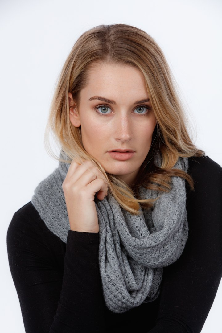 LACE ENDLESS SCARF - Woolshed Gallery