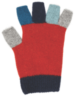 Load image into Gallery viewer, MULTI FINGERLESS GLOVE - Woolshed Gallery