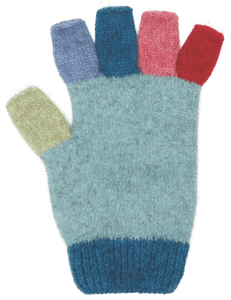 MULTI FINGERLESS GLOVE - Woolshed Gallery