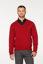 Load image into Gallery viewer, RACK STITCH V NECK JERSEY