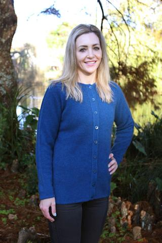 BUTTON CARDIGAN - Woolshed Gallery