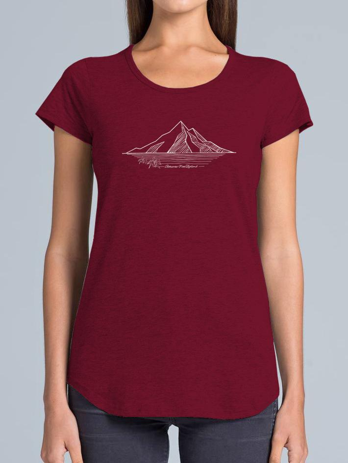 MOUNTAIN MERINO T-SHIRT - Woolshed Gallery