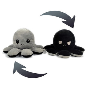 Moody Octopus The Emotion Reversible Plush
