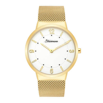 Gents watch yellow gold yellow gold