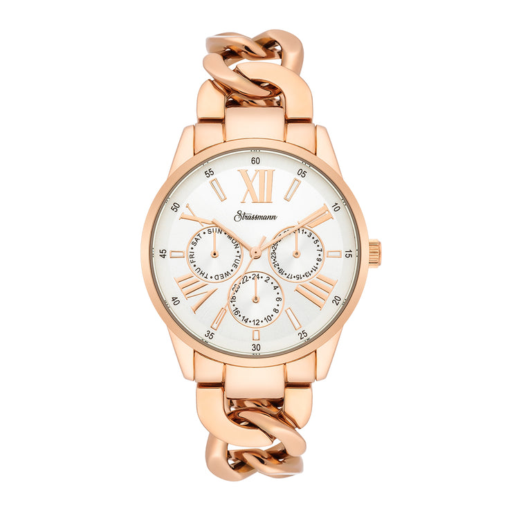Ladies watch rosé gold rosé gold