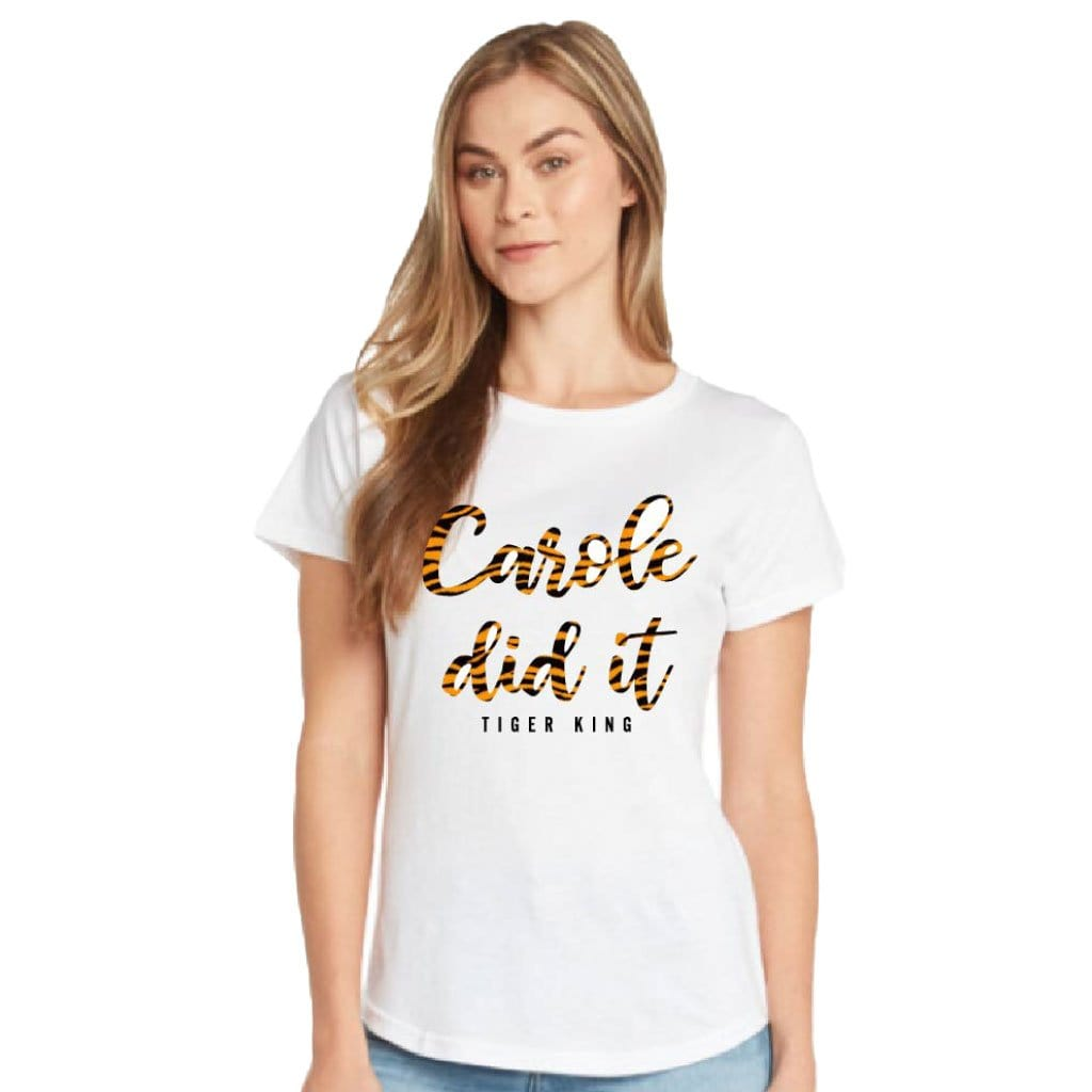 Joe Exotic Carol Did It T-Shirt