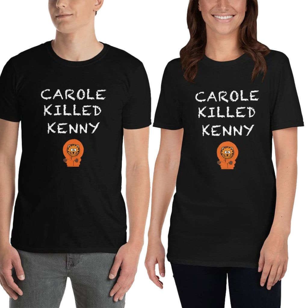 Carole Killed Kenny Black Unisex T-Shirt
