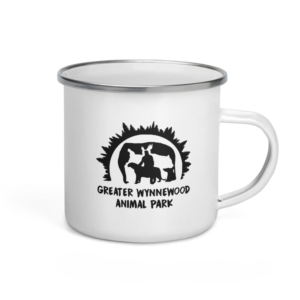 Greater Wynnewood Animal Park Camping Enamel Mug Left View