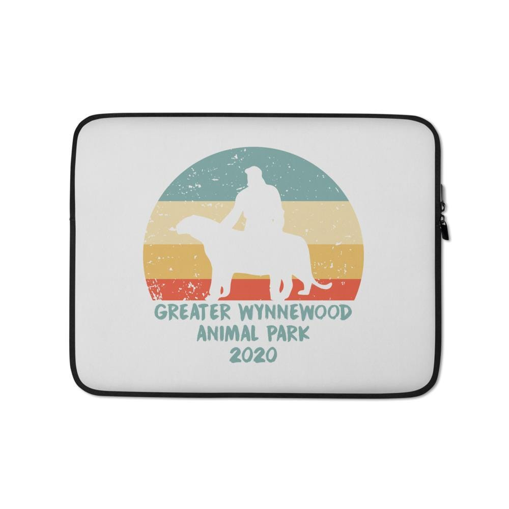 Greater Wynnewood Animal Park Rainbow Sun 13 inch Laptop Sleeve
