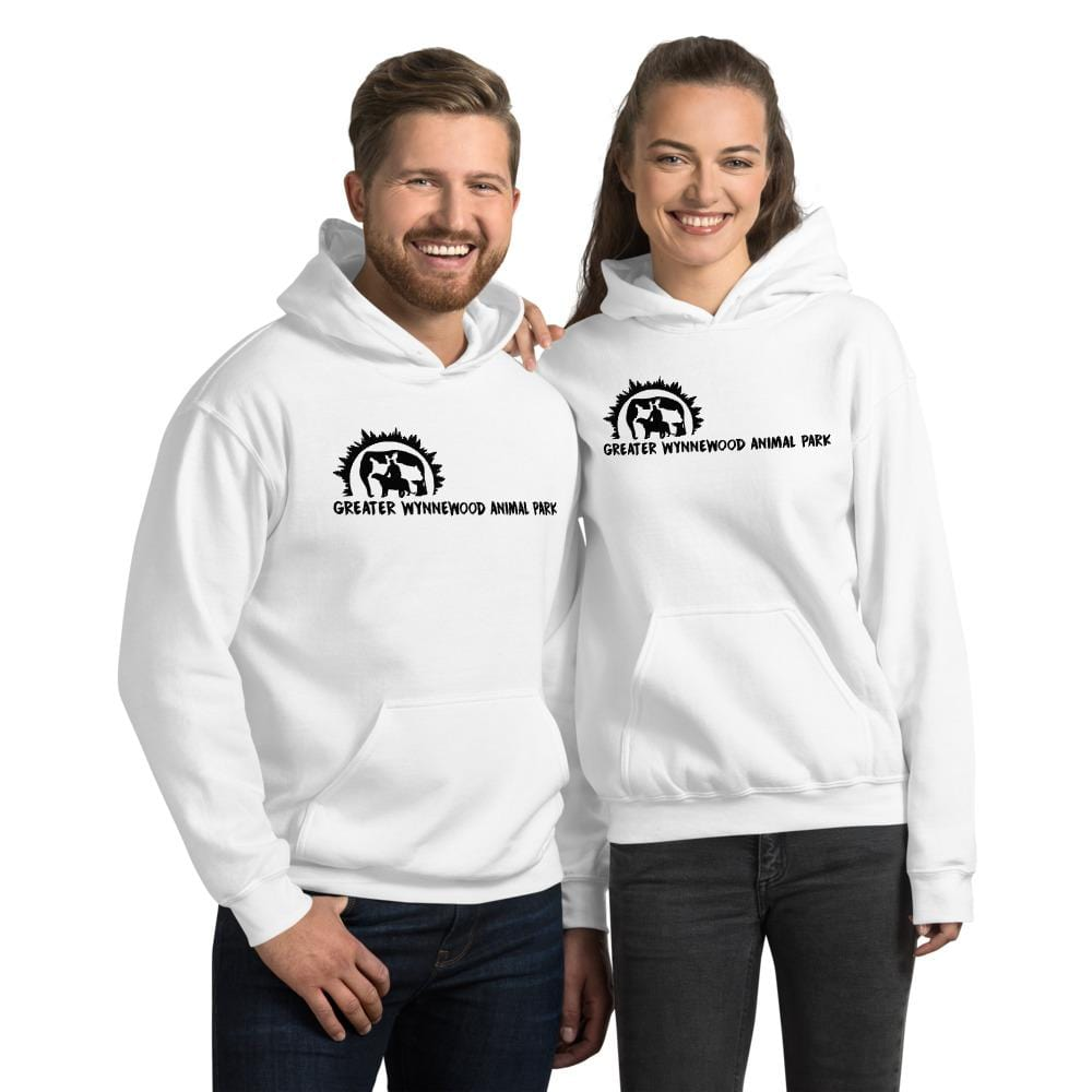 Greater Wynnewood Animal Park Black Logo Unisex Hoodie