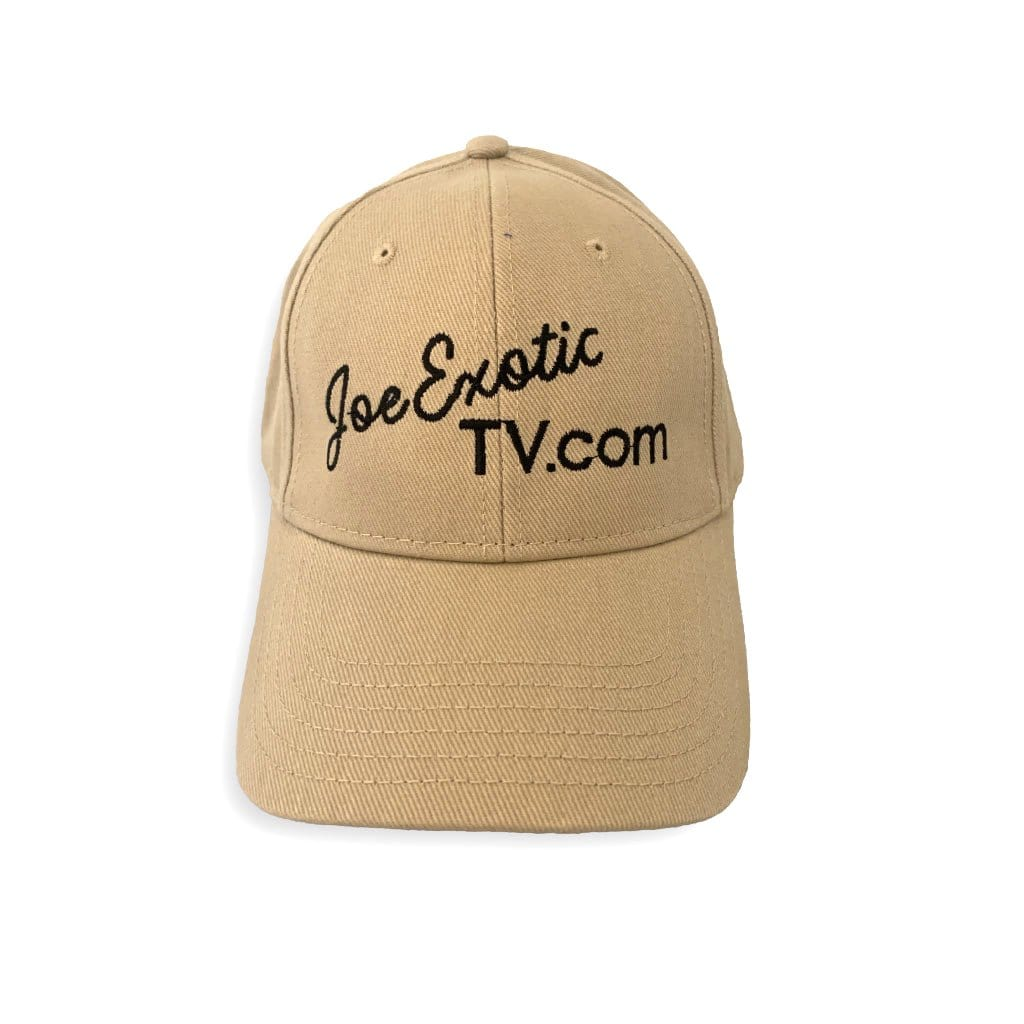 Tan Joe Exotic TV Hat Front