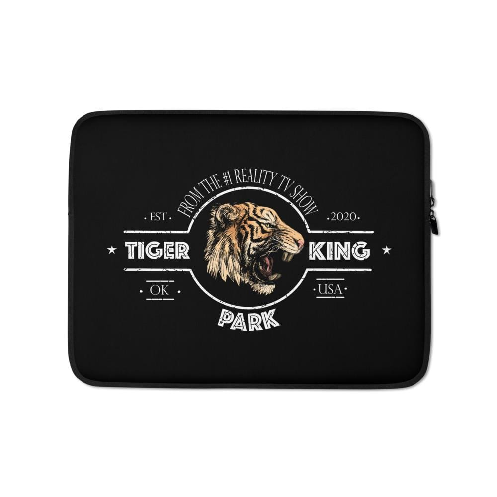 Tiger King Park Black 13 inch Laptop Sleeve