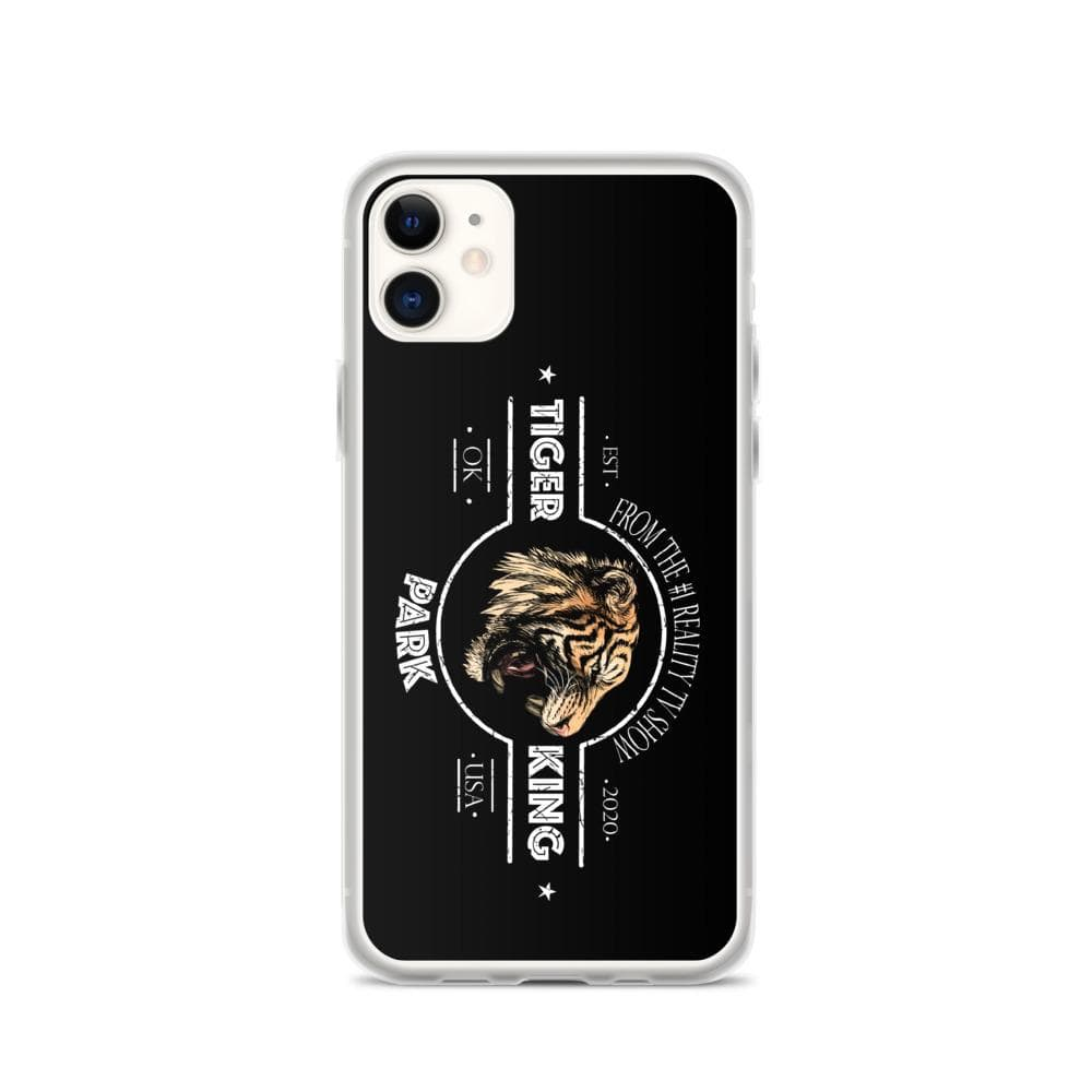 Tiger King Park Black iPhone 11 Case