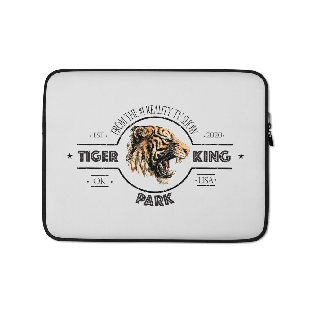 Tiger King Park Grey 13 inch Laptop Sleeve