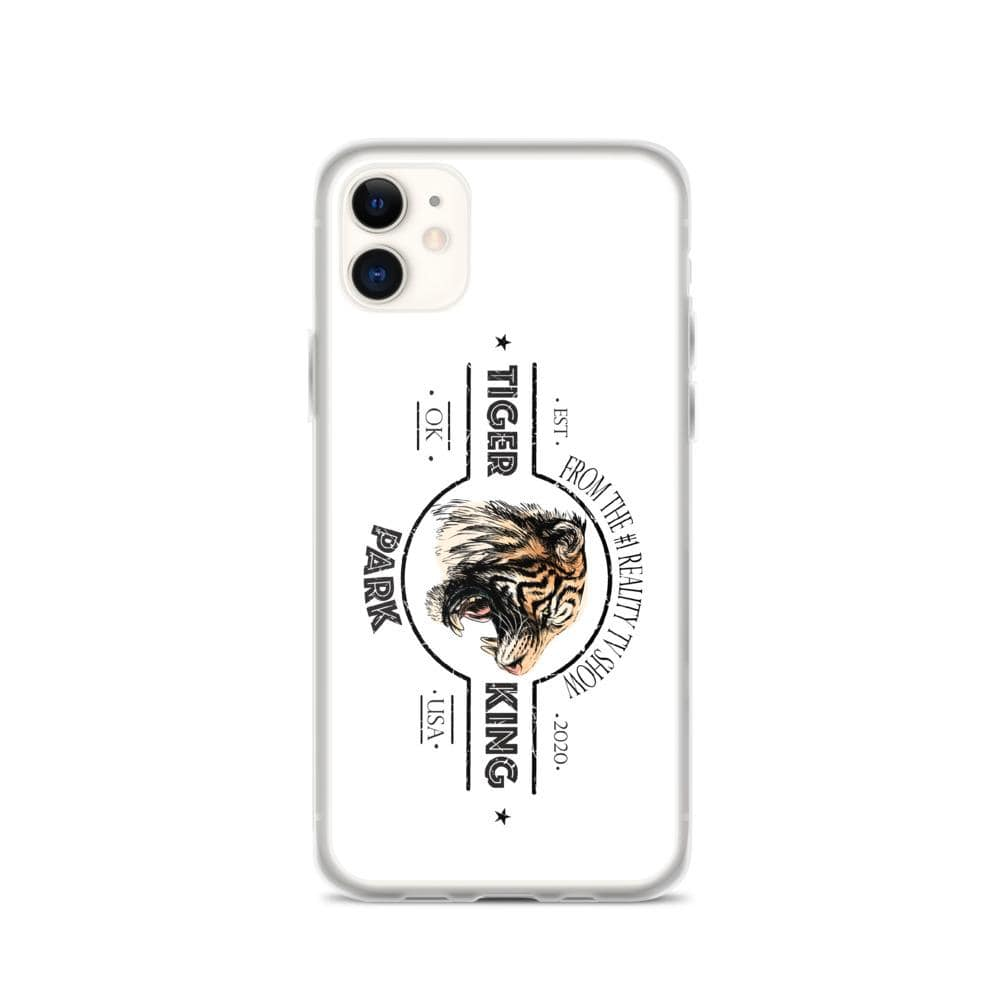 Tiger King Park White iPhone 11 Case