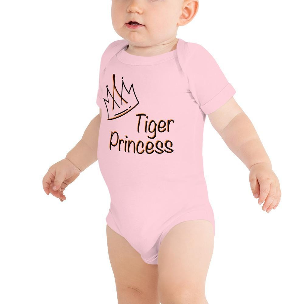 Tiger Princess Youth Baby Onesie Pink