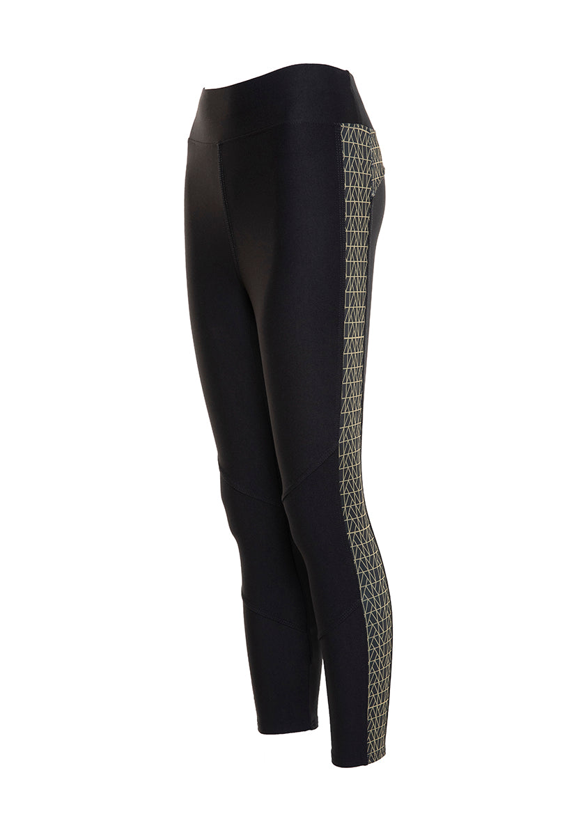 YANA 1.0 Signature Print 3/4 Leggings