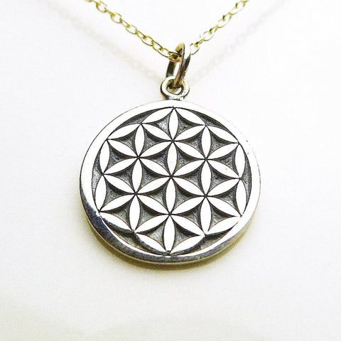 Flower of Life Necklace / Silver925