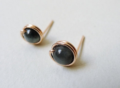 Eagle Eye Stud Earrings