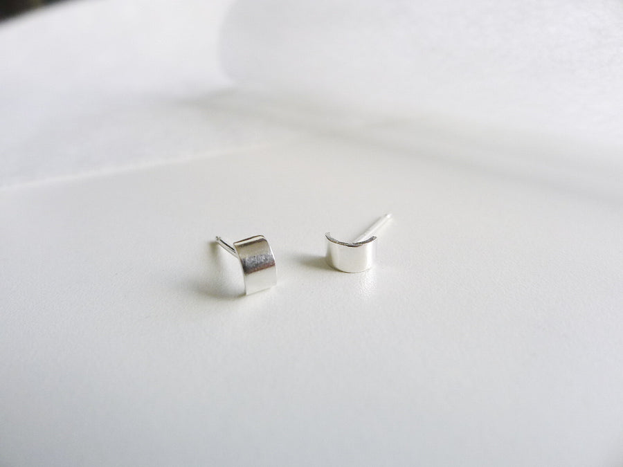 Armour tiny Silverstuds | Simple Studs | Post earrings | Small Stud Earrings  |