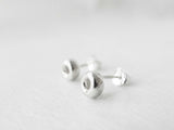 Roundel studs | 925silver studs | Simple Studs | Post earrings