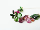 Tourmaline Necklace / Gemstone Necklace / 14K GF