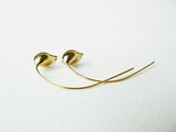 Calla Tiny Earrings / long earrings