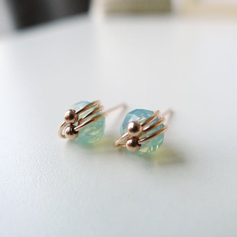 Atom Earstuds / Austrain Crystal / Sea Green