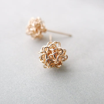 Bora Earstuds / 14k Gold-filled