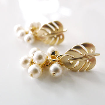 Odilia Earrings / Pearls