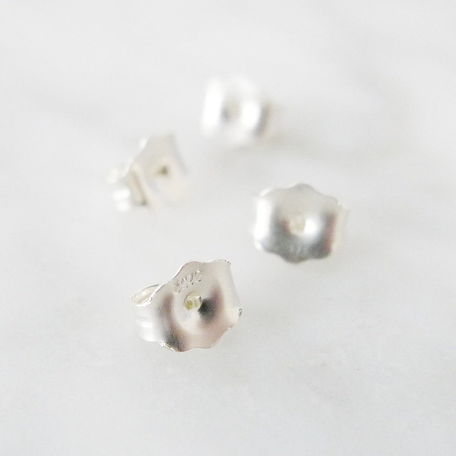 Earstuds Backing | Post Earring Backing / 14K Gold-filled | 925 Silver