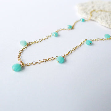 Huyanna Necklace / Amazonite