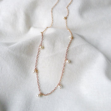 Nolcha Necklace / Fresh Water Pearls