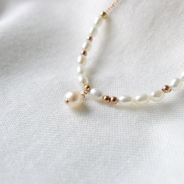 Loire Necklace / Fresh Water Pearls