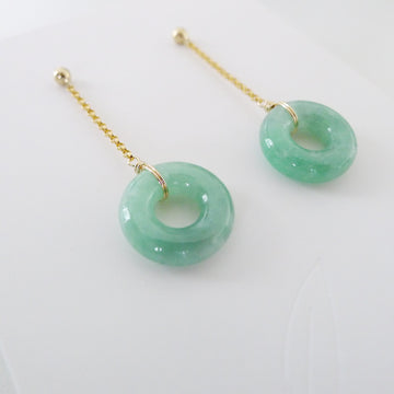 Cadence Earrings / Premium Jade