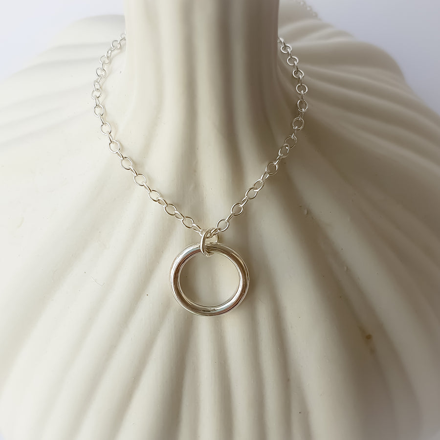 Eternity Necklace / 925 Silver