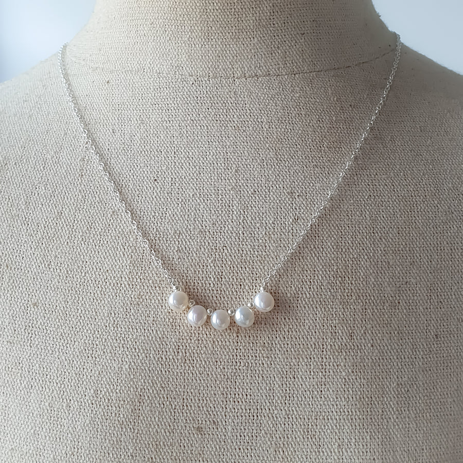 Bliss Necklace / Fresh Water Pearl