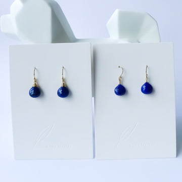 Lapis Earrings | Drop Earrings | Stone Earrings
