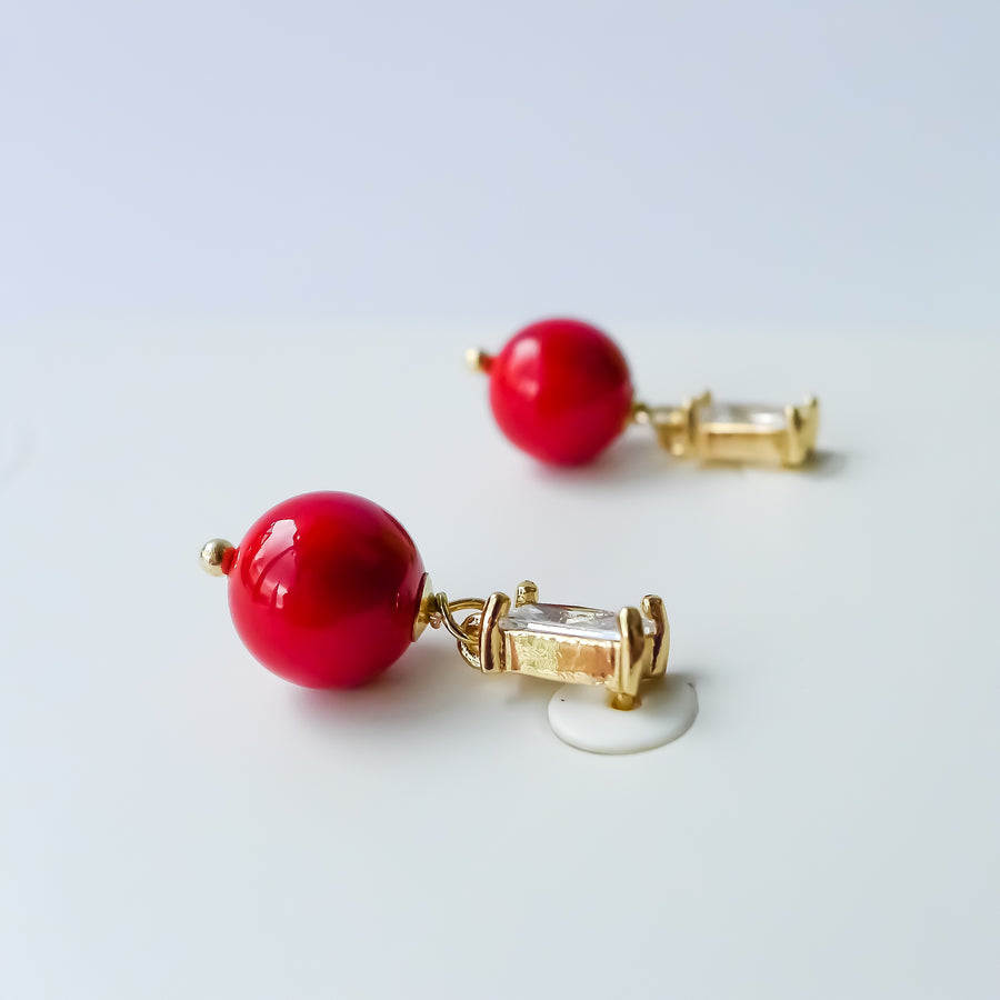 Isla Earrings / Shell Pearl