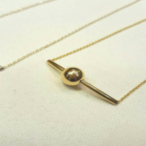 Eclipse Silver / Eclipse Goldfilled Necklace