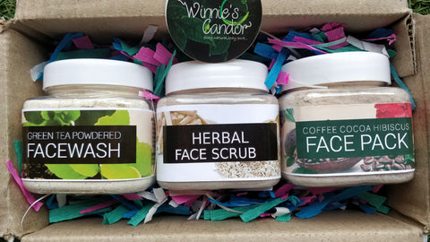 Customized Skin Care Kit for Combination Skin