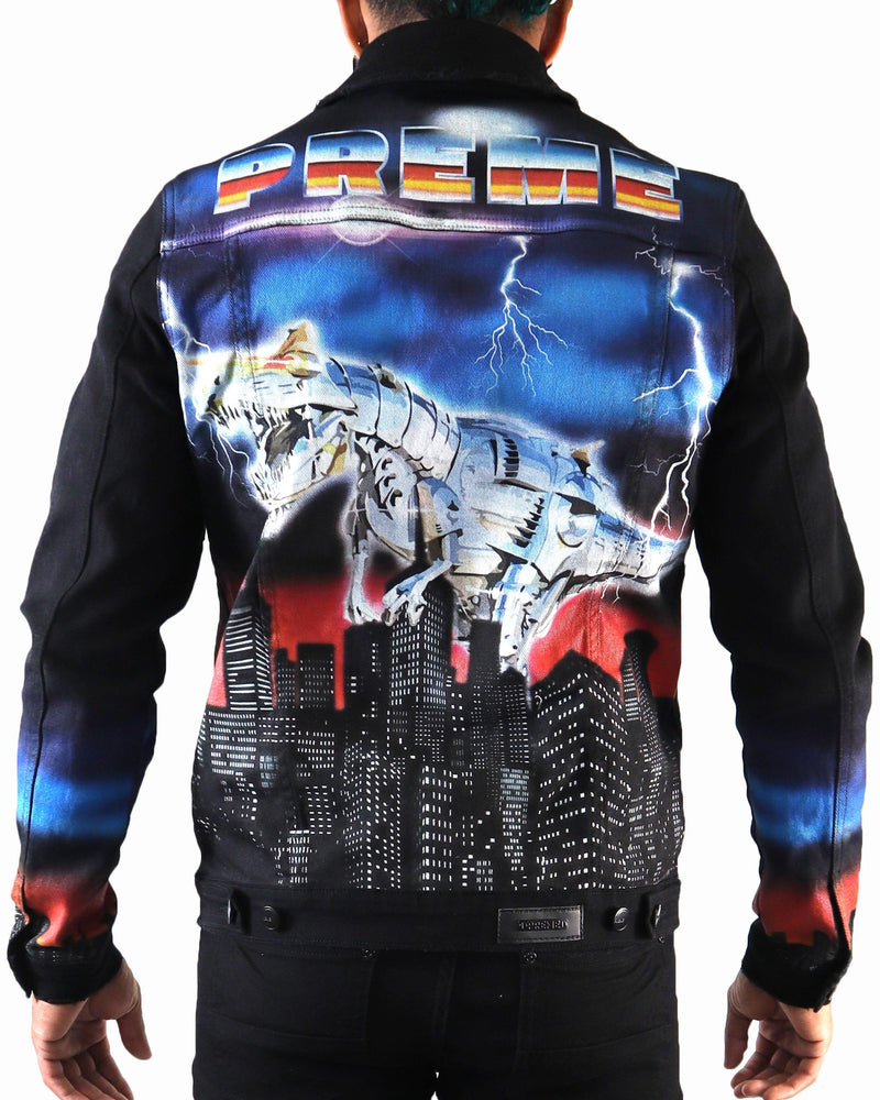 Extinction Black Denim Jacket