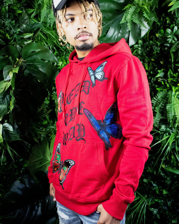 Monarch Red Hoodie