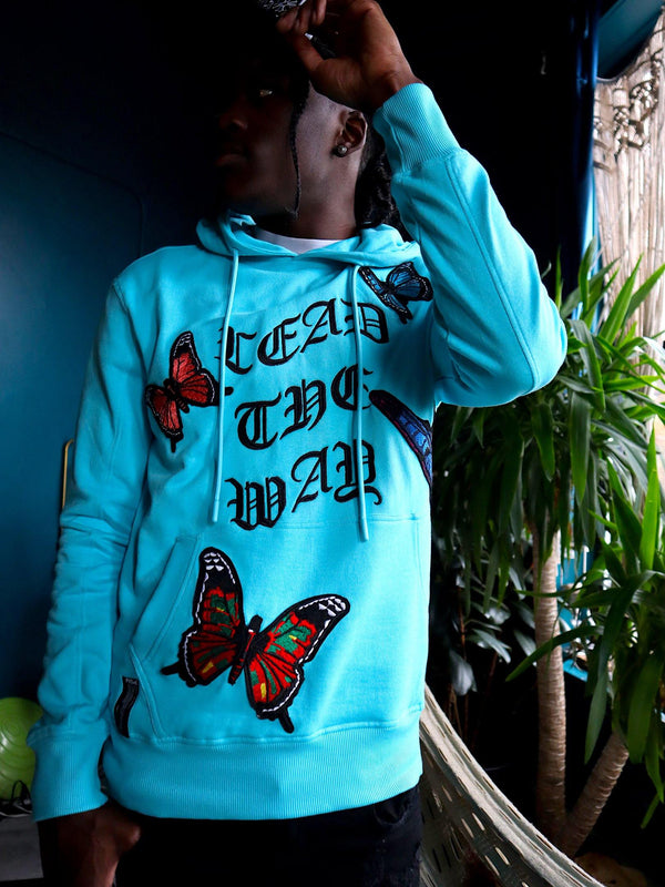 Monarch Turquoise Hoodie