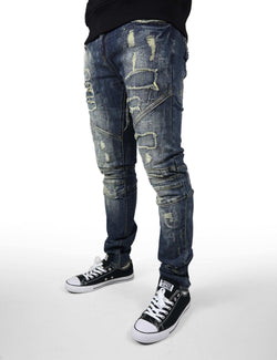 Wellington Denim(ripped and distressed) - PREME USA