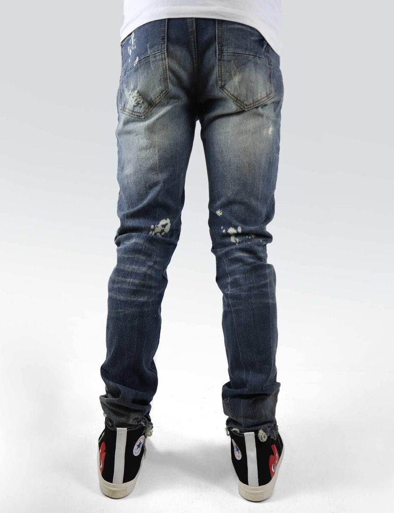 Anchorage Denim (ripped and Bleached)
